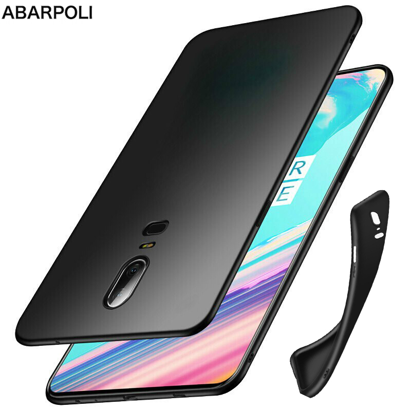 <font><b>Oneplus</b></font> 6T <font><b>Oneplus</b></font> 6 5 5T Soft Case Clear Soft TPU Black Silicone Cover on <font><b>OnePlus</b></font> 6 A6000 6T <font><b>A6013</b></font> A6010 <font><b>oneplus</b></font> 5 5t Coque image