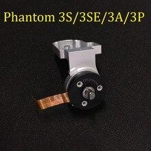100% Original Phantom 3 S /3SE /3A /3P cardán Motor de rollo y soporte de brazo reparación de piezas de repuesto para DJI Phantom 3 Series reemplazo