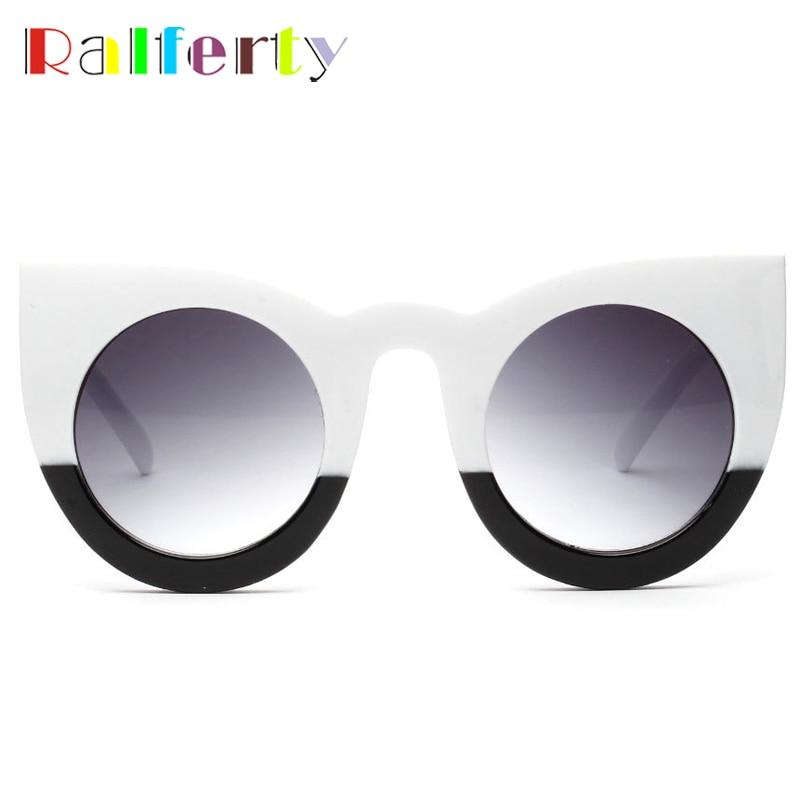 d6d2124de5 ... Ralferty Vintage Cat Eye Sunglasses Women Retro Sun Glasses For Woman Cateye  Sunglass Black Female Shades ...