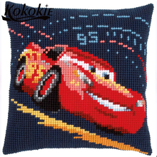 3d embroidery cushion cover kits Embroidery knitting needles kit for handmade