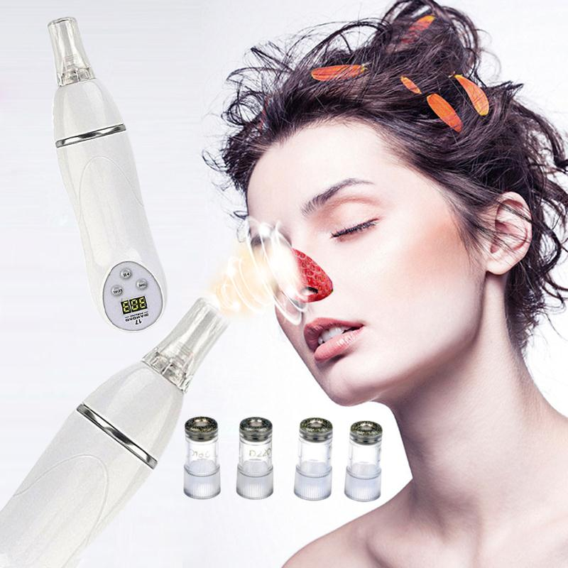 Diamond Microdermabrasion Face Pore Cleaner Beauty Machine Suction Remove Blackhead Scar Acne Remover Skin Tightening Device silver 2016 new technology diamond microdermabrasion machine v line face remove scars acne marks skin beauty machine