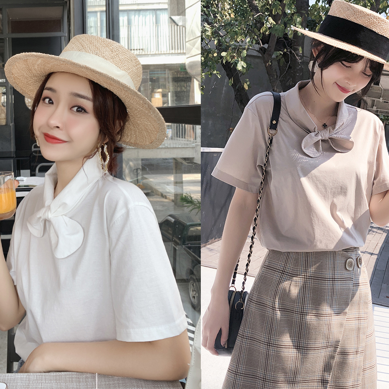 Mishow Lace Casual Chiffon Women Blouse 2019 Summer Beach Holiday Thin Coats Lantern Sleeves Solid Female Tops Mx18b4894 Women's Clothing