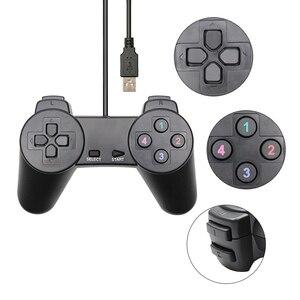 Image 2 - USB 2.0 Có Dây Chơi Game Joystick Joypad Tay Cầm Chơi Game Bộ Điều Khiển Trò Chơi Manttee Vải Bố Cao Cấp Mando Dành Cho Máy Tính Laptop Máy Tính Cho XP/Cho Vista