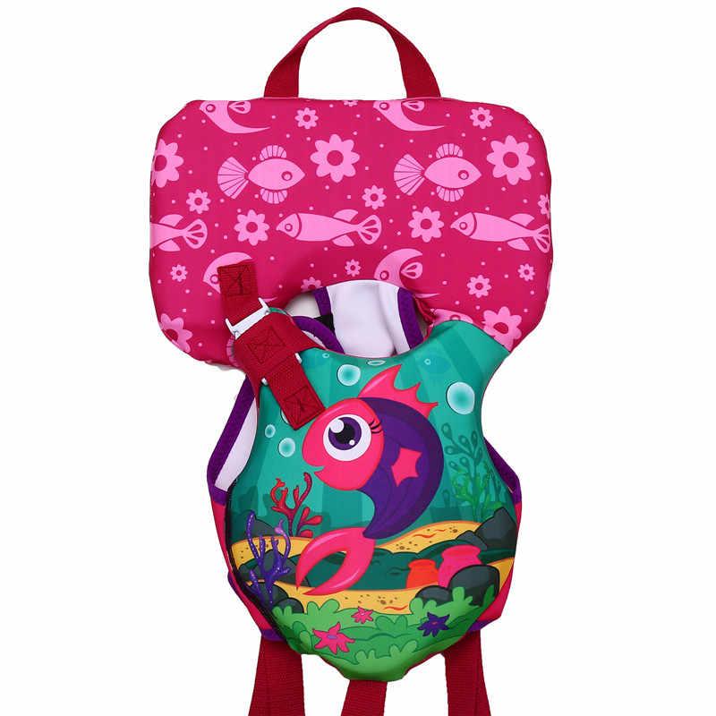 Owlwin Новый спасательный жилет для детей <14 кг, детский купальный костюм с пузырьками для воды, детский спортивный спасательный жилет для плавания