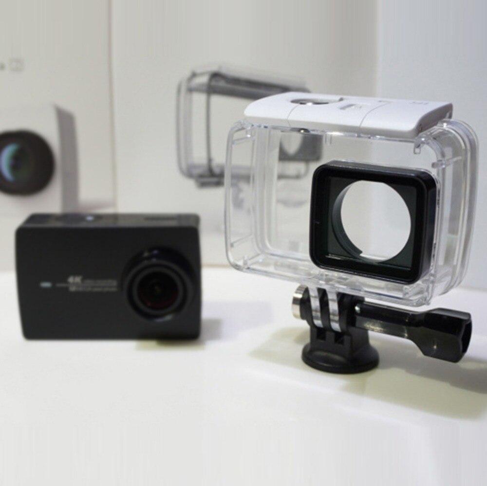 Galleria fotografica Diving Protective Housing Waterproof Case for Xiaomi YI Action Camera Xiaoyi II 2 4K Case Xiao mi YI 4K 2 camera box
