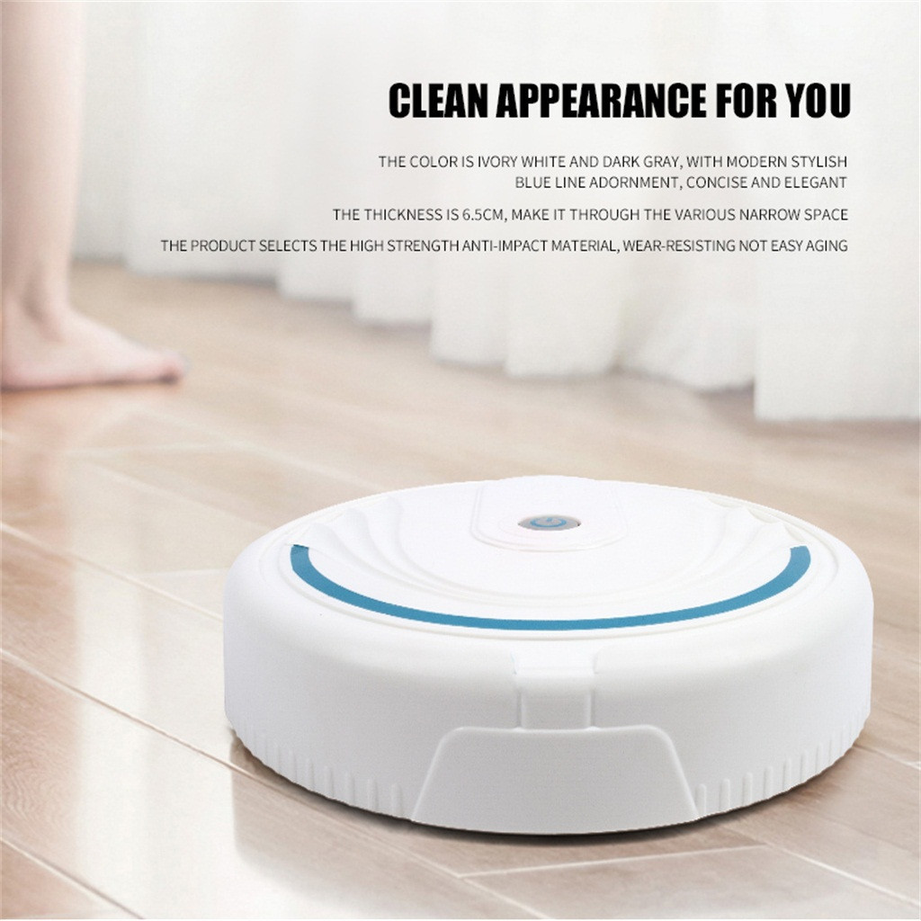 Full Automatic Mini Vacuuming Robot Household Appliances Charging Sweeper Intelligent Automatic Sensing Low Noise Cleaning Robot