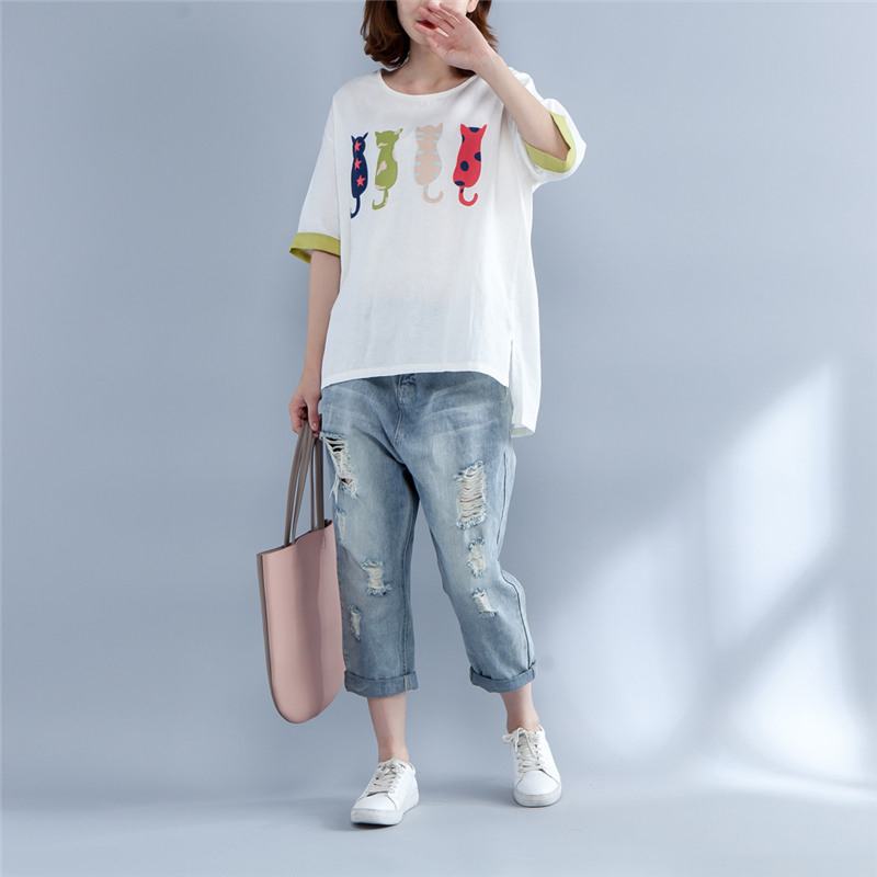 Landonaserafin Woman Flatbush Zombies Short Sleeve Crop Tees Fashion Blouse Dew Navel