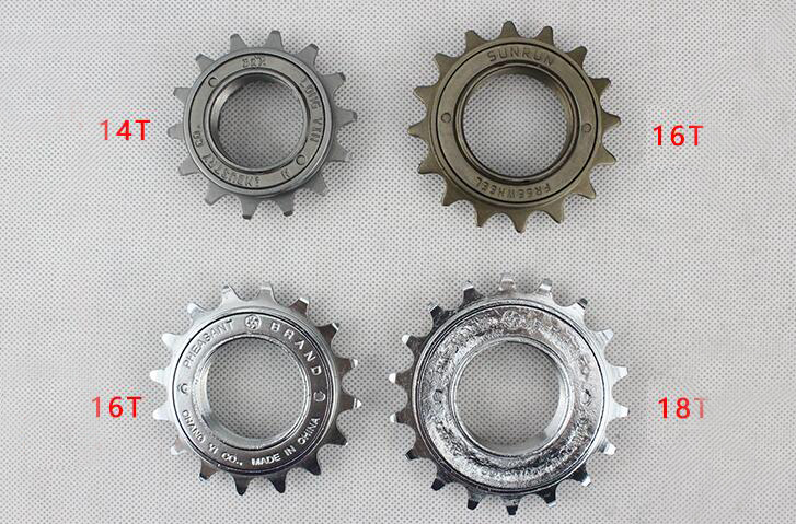 Buy 14t 16t 18t Fixed Gear Bmx Bicycle Freewheel