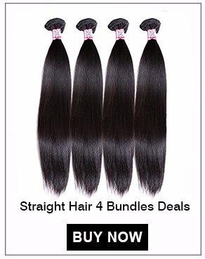 Straight Hair 4 Bundles Deals