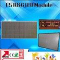 2 unids/lote P7.62 de interior F5.0 Led módulo del Color Dual R & G de matriz de puntos llevó el módulo 488 * 244 mm, 64 * 32 Pixel p7. 62 mm Led Panel publicidad