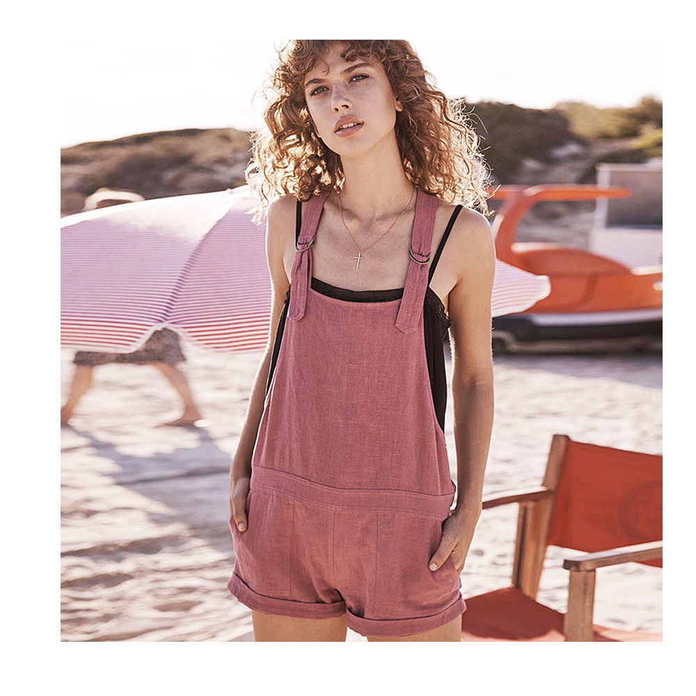 Causey Sexy Vinage Rompers Jumpsuits Women Playsuit combinaison femme Rompers Shorts Casual Summer Party Beach Bodysuit Women