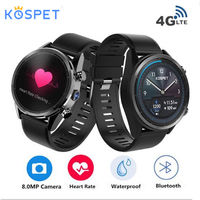 Kospet Hope Android 7.1 1.39 for HUAWEI WATCH GT Smartwatch 3GB+32GB Quad 4G AMOLED WIFI GPS Sim IP67 Waterproof Smart Watch