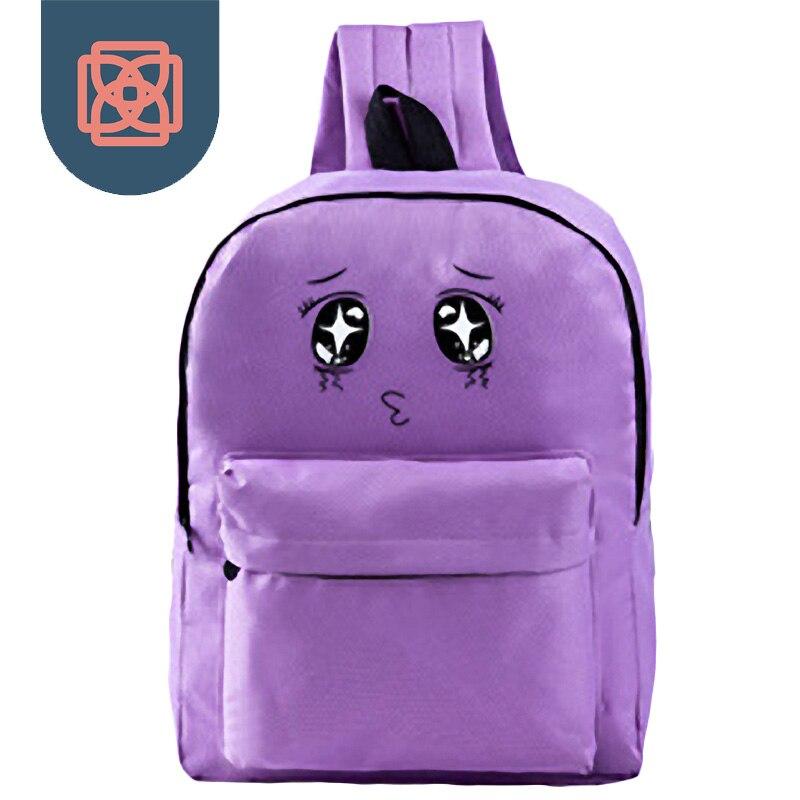 Canvas School Bags for teenagers Backpack Travel bag cute cartoon Backpacks Preppy Style kawaii bagpack laptop women canvas backpacks school bags for teenagers girls preppy style travel shoulder bags kanken backpack mochilas feminina