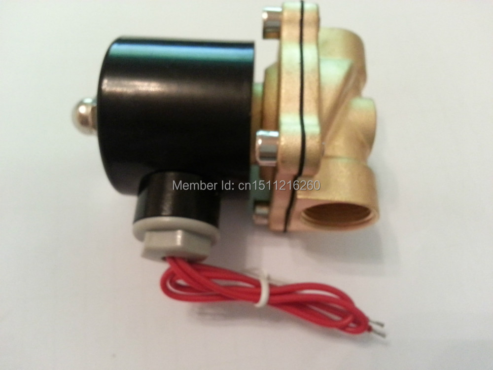 free shipping g3 4 stainless steel solenoid valve 2w200 20 no normally open for acid water air oil dc12v dc24v ac110v Free Shipping High Quality 1/2'' Brass Solenoid Valve Normally Closed Water Air Oil 2W160-15 NBR DC12V DC24V AC110V or AC220V