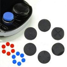6 في 1 سيليكون Thumbstick قبضة غطاء المقود التناظرية جراب واقٍ لسوني بلاي ستيشن Psvita PS Vita PSV 1000/2000 سليم