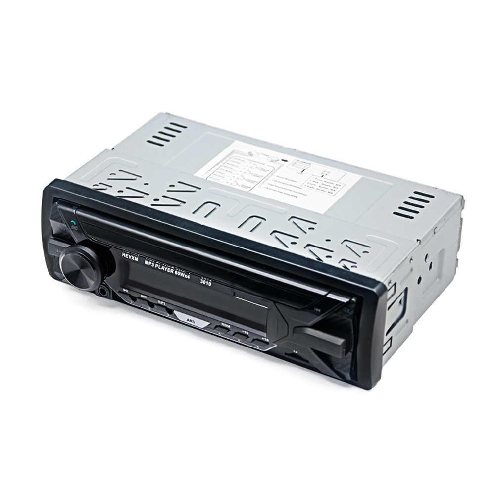 Авто Радио автомобилей automagnitol автомобиль, Радио стерео плеер Bluetooth Phone AUX/MP3 FM/USB/1 Din /дистанционного управления автомобилем аудио