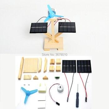 DIY Wooden Solar Fan  1