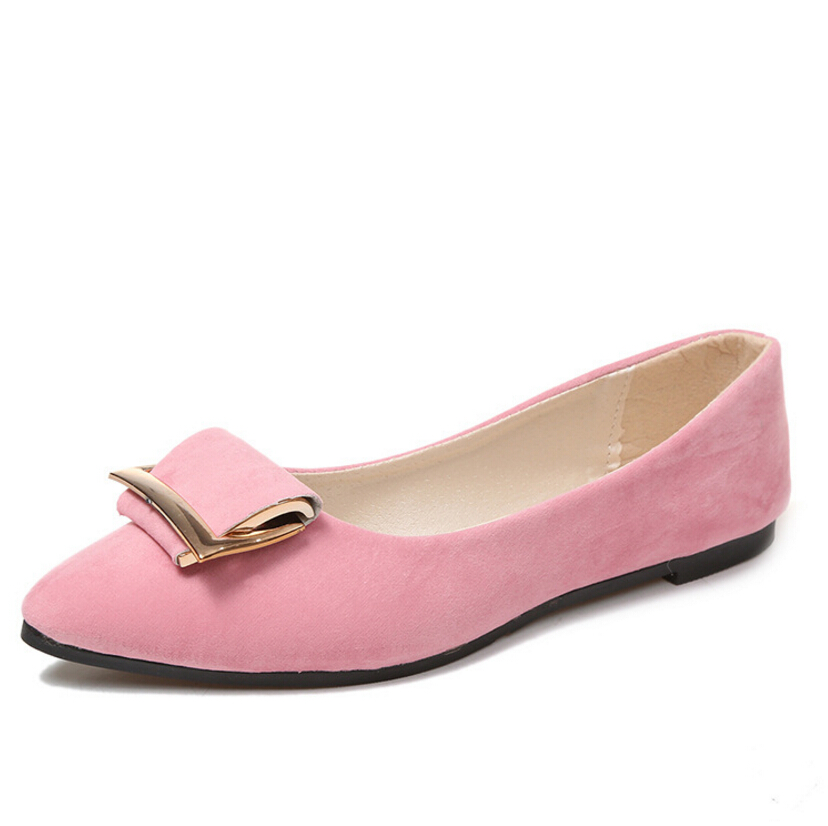 Spring 2017women new shoes fashion women slip on flat comfortable soft moccasins shoes shallow Ballet flats High quality product new 2015 fashion high quality lazy shoes women colorful flat shoes women s flats womens spring summer shoes size eu35 40wsh488