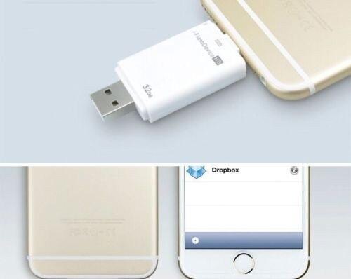 Я-Флэш-Диск U 32 Г Внешние Накопители Памяти USB Stick Молния Данных для iphone 5 5C 6 7 плюс