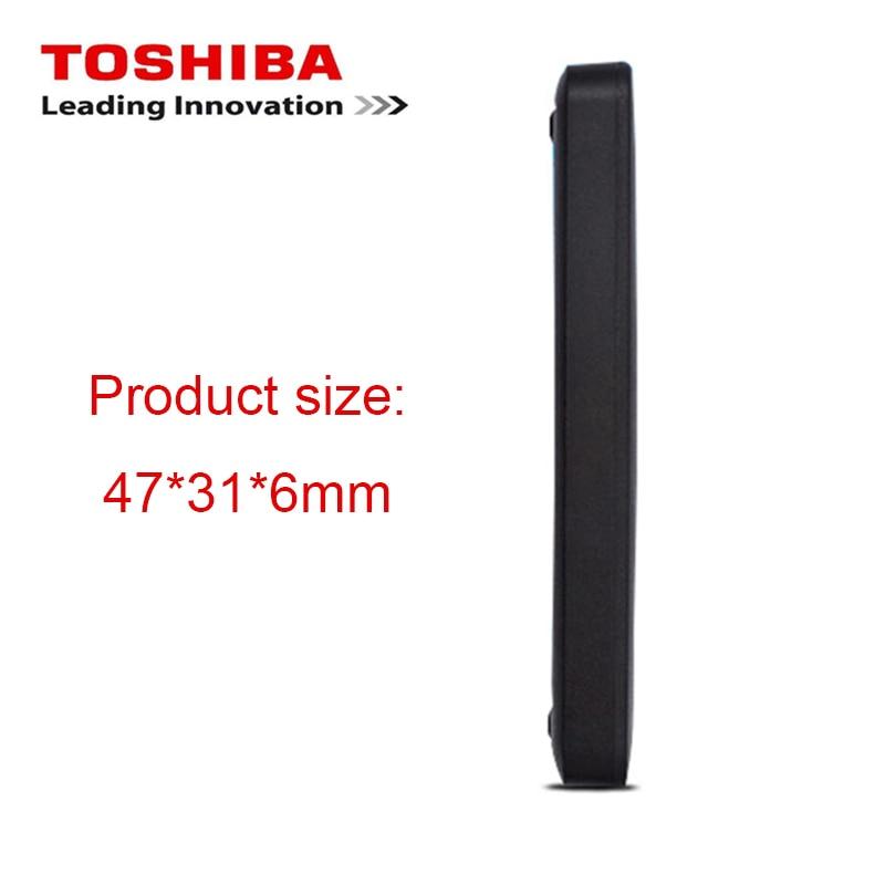 "Image 3 - TOSHIBA 500GB External HDD Portable Hard Drive Disk HD 5400rpm USB 3.0 SATA  2.5"" Mobile HDD Exturnal Hard Drive for Laptop-in External Hard Drives from Computer & Office"