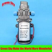 8L/MIN 80W High Pressure 12V DC high pressure diaphragm pump 12v mini vacuum pump 8l min high pressure suction diaphragm pumps with holder