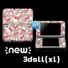 닌텐도 새로운 3DS LL/ 3DS xl에 대 한 제한 Hellokitty 컬러 스티커에 대 한 보호 비닐 스킨 스티커