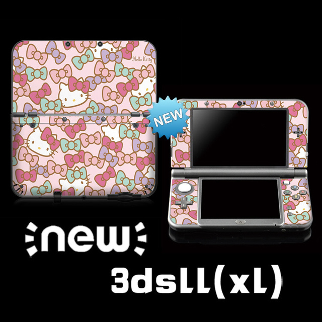 Protective Vinyl Skin Sticker For limited Hellokitty Color Stickers For Nintendo NEW 3DS LL/ 3DS XL