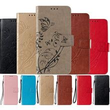 Simple Color Business Case For Xiaomi Mi A2 Lite A1 5X Redmi 6A 4A Note 4 4X 5A 5 6 Pro Leather Wallet Stand Phone Cover P03E