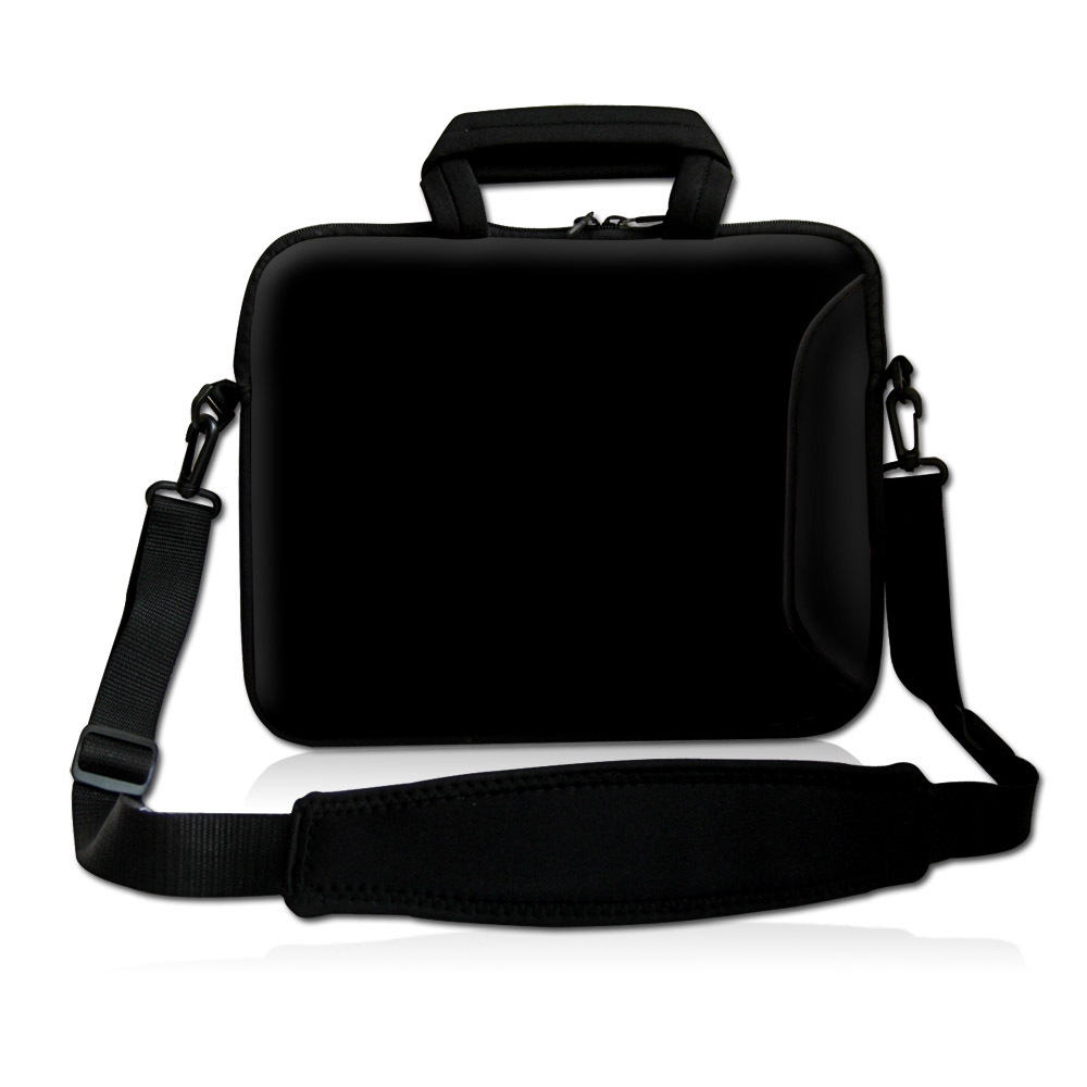 10 13 3 14 15 6 16 17 4 Black Laptop Bag Notebook Case Cover Sleeve W Shoulder Strap Handle Outside Pocket In Bags Cases From