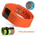 New TW64 Smartband Smart Bracelet Wristband Fitness Tracker Bluetooth 4.0 Flex Sport Watch for IOS Android Better Than Mi Band