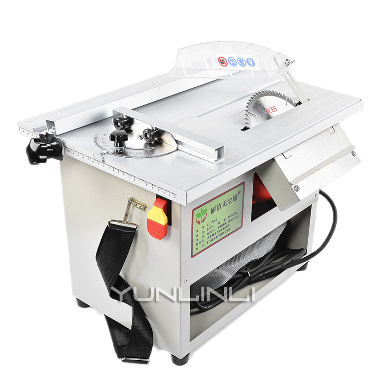 1500w Table Saws 220v Dust free Woodworking Saw Household Cutting Machine Multi function Desktop Electric Saw Power Tool 150 3 in Saw Machinery from Tools
