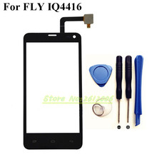 Оригинальный Сенсорный Экран Для Fly IQ4416 IQ 4416 Сенсорный Экран Планшета Стеклянная Панель Мобильного Телефона Сенсорная Панель + Инструменты