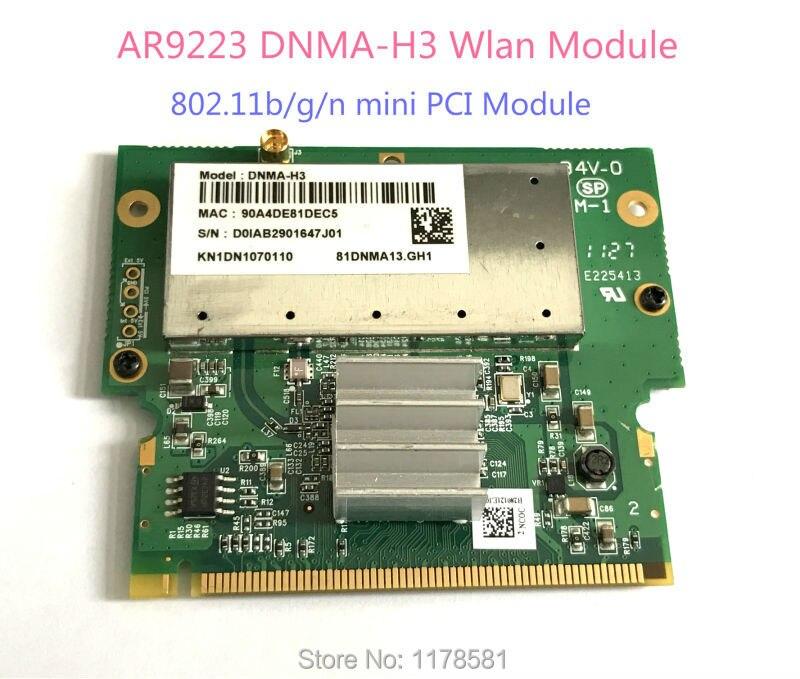 Atheros AR9223 DNMA-H3 Wlan 802.11b/g/n mini PCI Module wifi card
