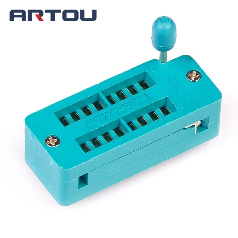 1PCS 16 Pin Universal ZIF DIP Tester IC Test Socket Narrow