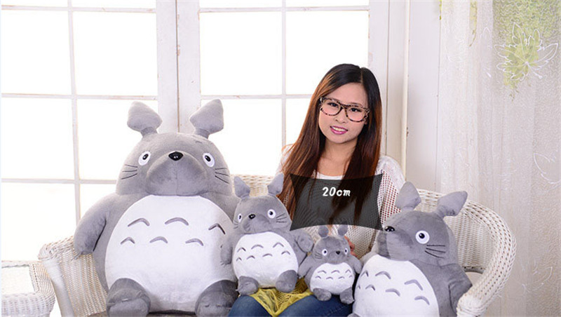 Plush Toy Totoro Cute Soft Stuffed Anime Toys Doll Large Size Pillow Totoro Best Gifts Toys For Children Animation Dolls Gift 3