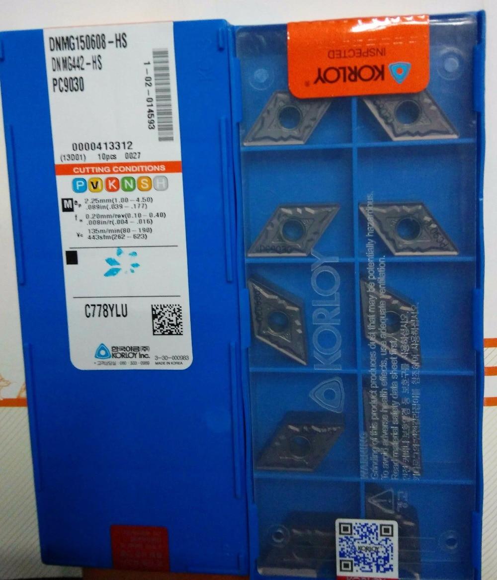 Dnmg150608 hs pc9030 korloy hartmetalleinsatz drehen werkzeuge fräser pvd beschichtet typen für edelstahl-in Drehwerkzeug aus Werkzeug bei AliExpress - 11.11_Doppel-11Tag der Singles 1