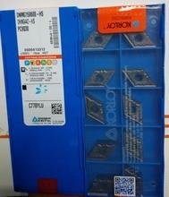 Dnmg150608 hs pc9030 korloy קרביד insert פניית כרסום כלים חותך pvd מצופה כיתות עבור נירוסטה