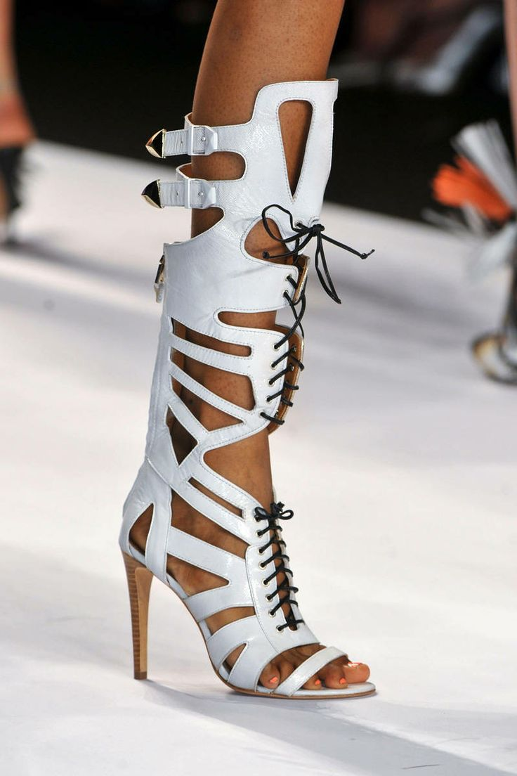 white cut-out lace-up open toe high thin heels buckle women sandals fashion summer women boots over-the-knee big size summer causal open toe buckle high heeled thick waterproof platform sandals for women