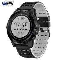 LOKMAT Smart watch bluetooth GPS Heart Rate Monitor Waterproof IP68 Men Clock Multiple Sport Modes Smartwatch For IOS Android