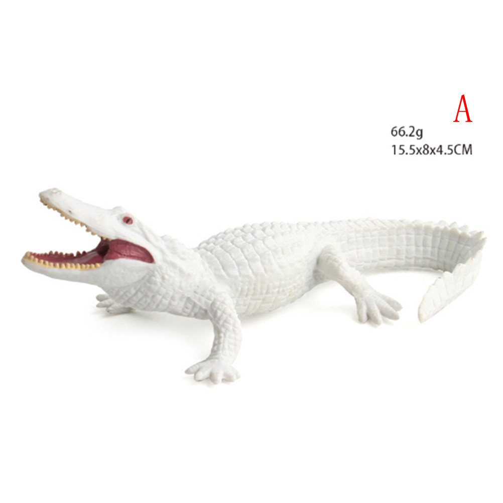 Crocodile Simulation Animal Model Action /& Toy Figures Collection Kids Gift JB
