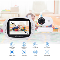 3.5 Wireless Video Baby Monitor Two way Talk WIFI Video Audio Communication Baby Monitors Private data protection Video Camera