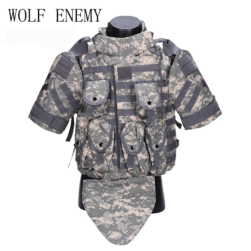 Combat Vest Army Outerdoor CS Cosplay OTV Tactical Camouflage Vest Military Molle Combat CS Typhon Highlander Vest us army khaki camouflage tactical vest 600d nylon brown molle military cs paintball vest combat vest