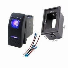 1 шт 5 контактный клавишный переключатель с сисветильник дом