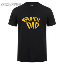 e88a2419 Summer New Super Dad T Shirts Novelty Funny Dad Gift Tshirt Mens Clothing  Short Sleeve Father's