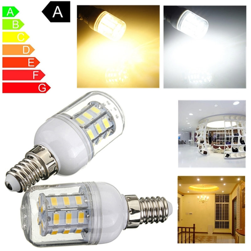 LED Corn Light Bulb E14 4W 27 5730SMD Energy Saving LED Lamp Spotlight Bulbs Lampada Pure Warm White Lighting DC 24V lole капри lsw1349 lively capris xs blue corn