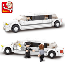 S Model Compatible with B0323 135pcs Luxury Limousine Models Building Kits Blocks Toys Hobby Hobbies For Boys Girls l model compatible with lego l15014 1858pcs amusement park models building kits blocks toys hobby hobbies for boys girls