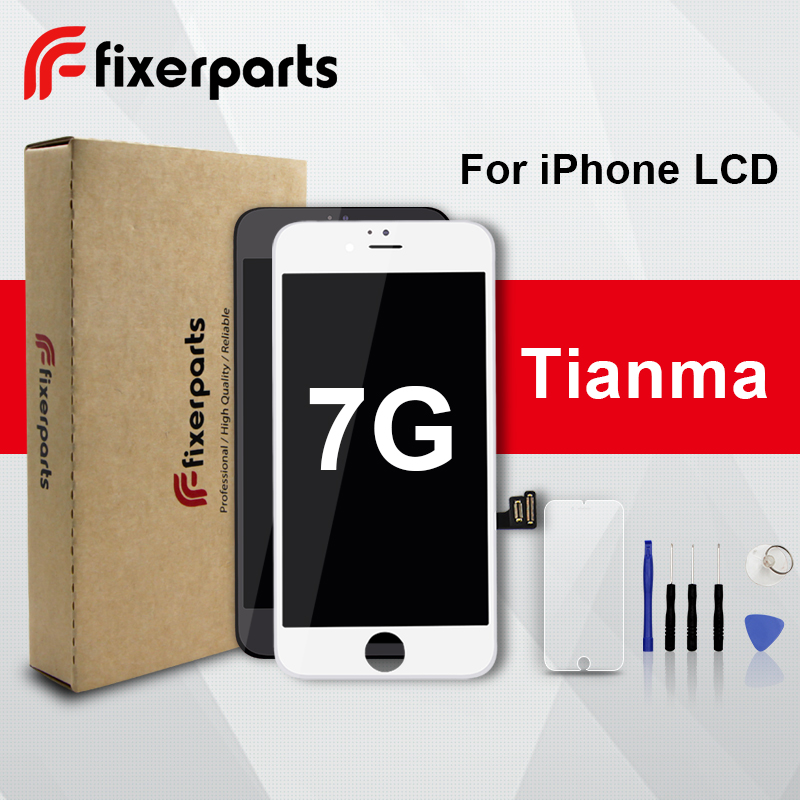 LCD Display Digitizer Replacement Touch-Screen Tianma Full-Assembly iPhone 7 1pcs
