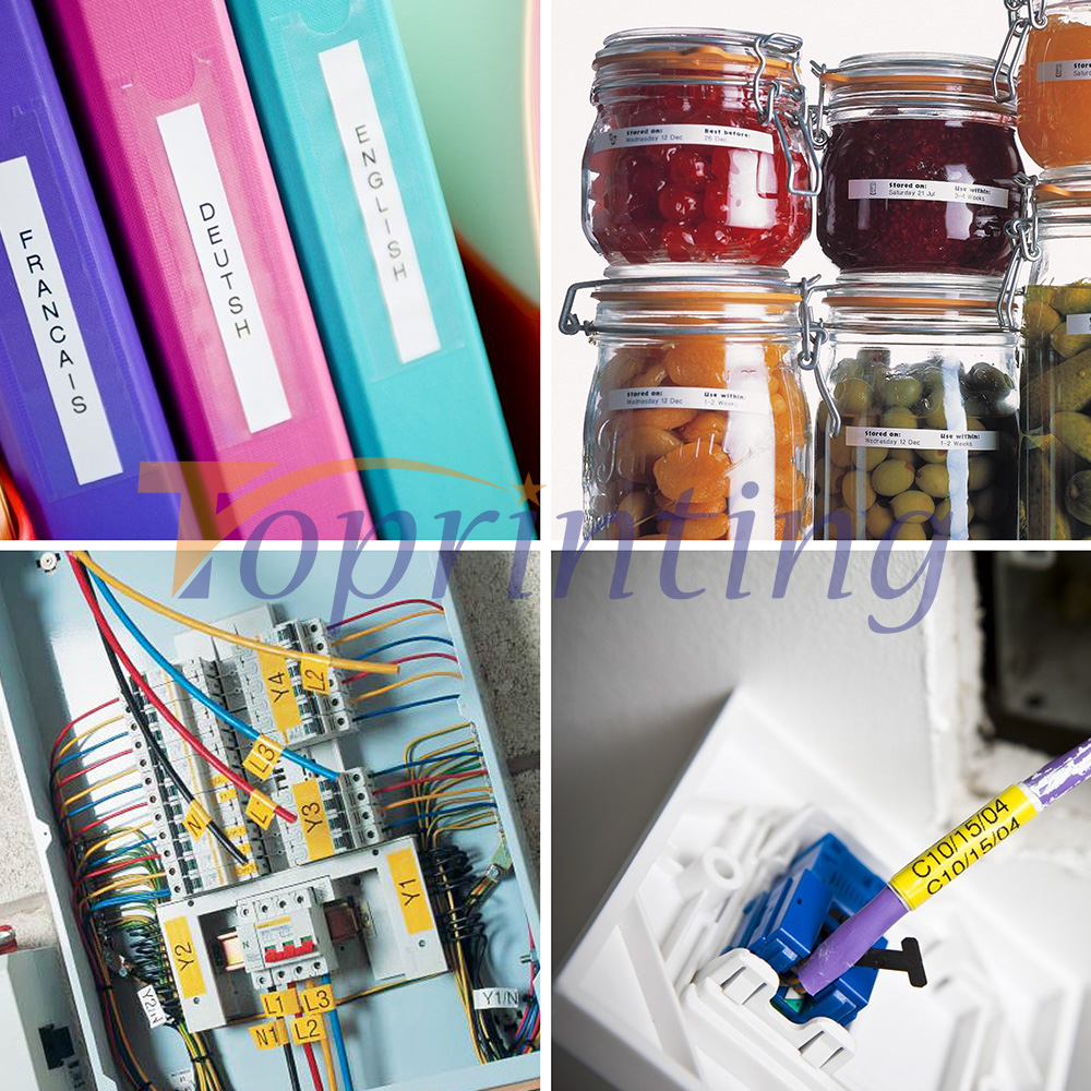 Fitas para Impressora de etiquetas dymo d1 Equipamento Aplicável : Impressora para Etiquetas