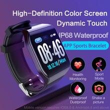 KSUN KSS901 Smart Bracelet Band With Heart rate Monitor ECG Blood Pressure IP68 Fitness Tracker Wrisatband Smart Watch