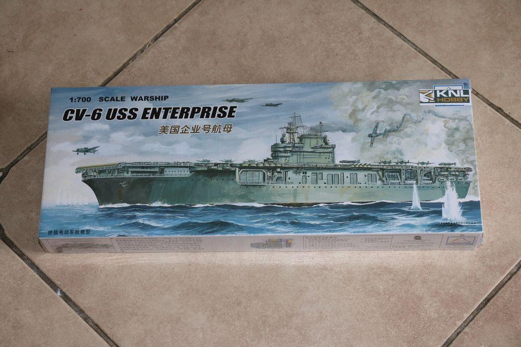 knl hobby 1  700 scale warship cv 6 uss enterprise xc80902 trumpeter mini hobby models